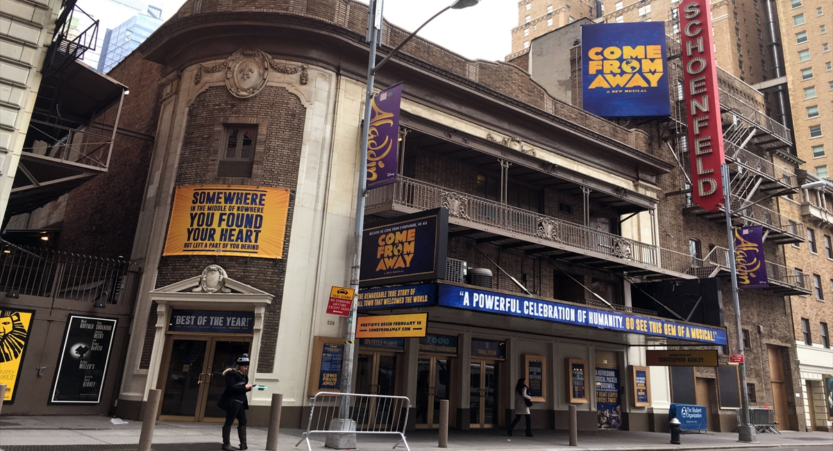 Come From Away - Steam Pipe Trunk Distribution Venue
