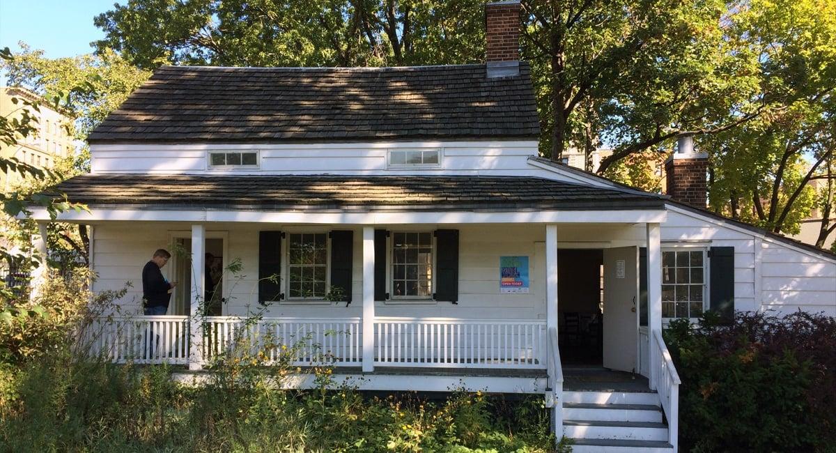 Edgar Allan Poe Cottage - JHSmithArch