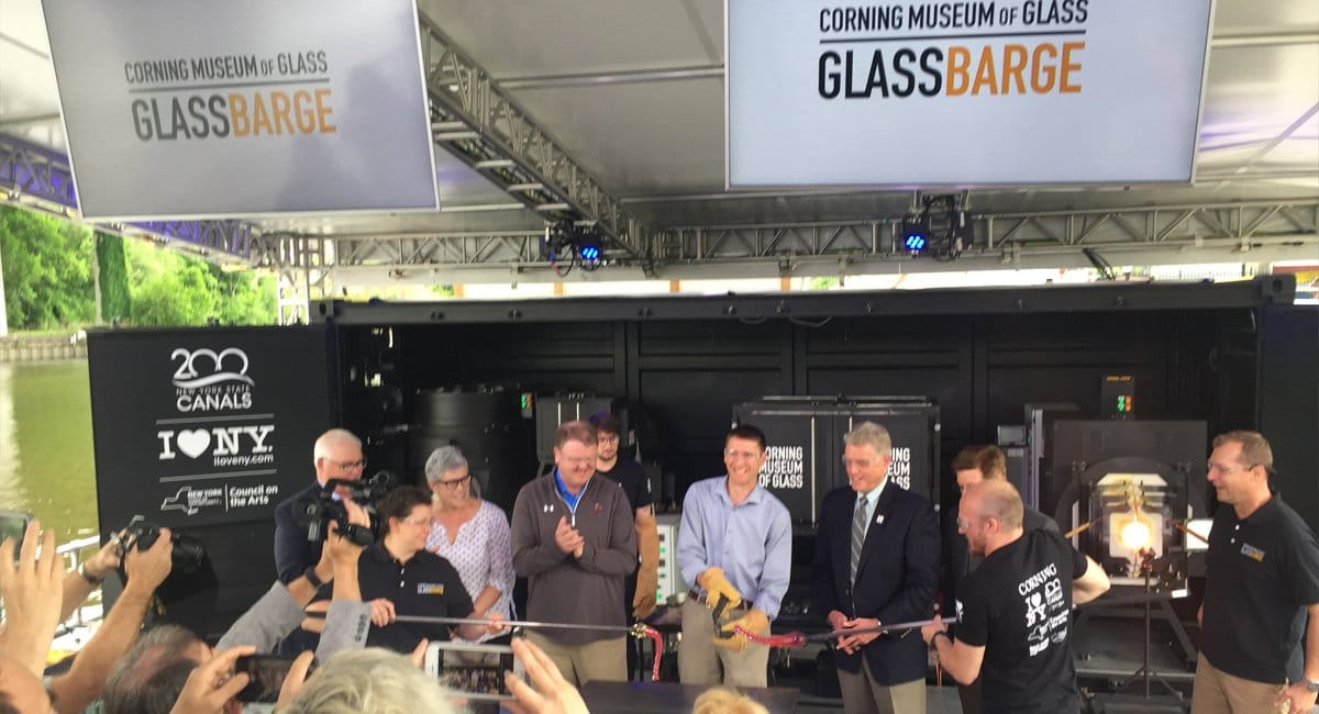 GlassBarge - Kingston - Photo by Tom Martinelli