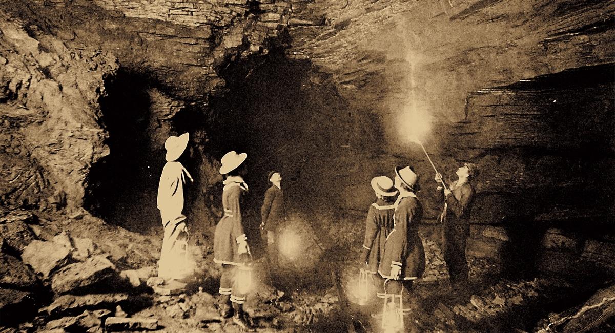 Howe Caverns, 1800s Tour
