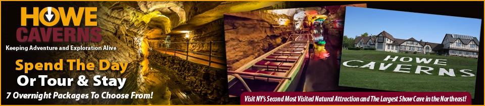 Howe Caverns | Large Banner Format