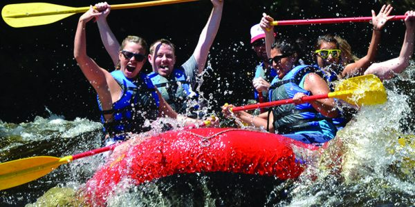 Speed down the Hudson River in a Whitewater adventure. Photo from WhitewaterChallengers