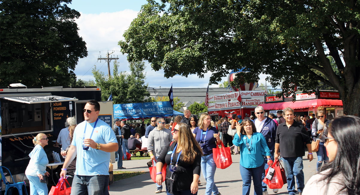 Hudson Valley Wine And Food Festival New York By Rail