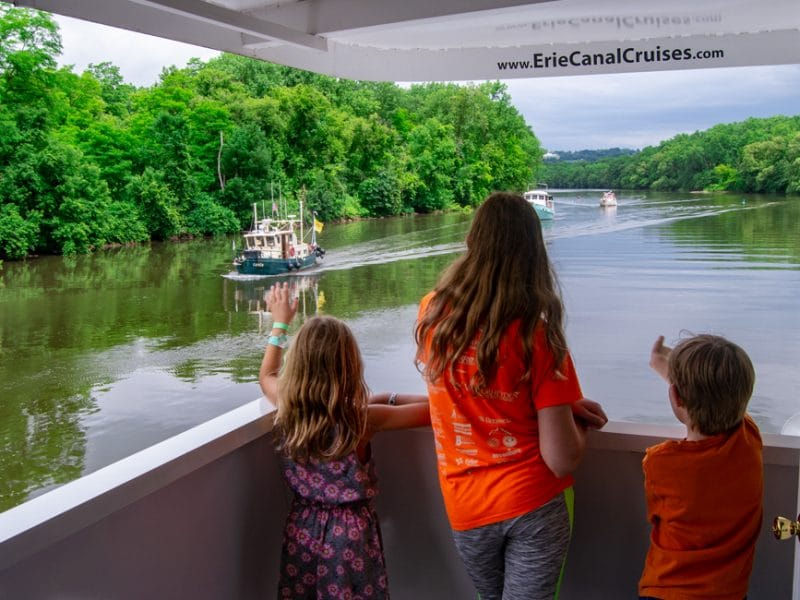 AFrey_Central NY_Erie Canal_Erie Canal Cruises – Kids