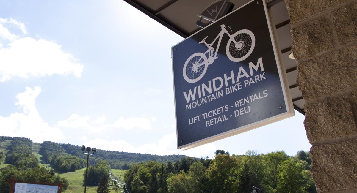 Windham Bike Park Sign | Allyson Macci