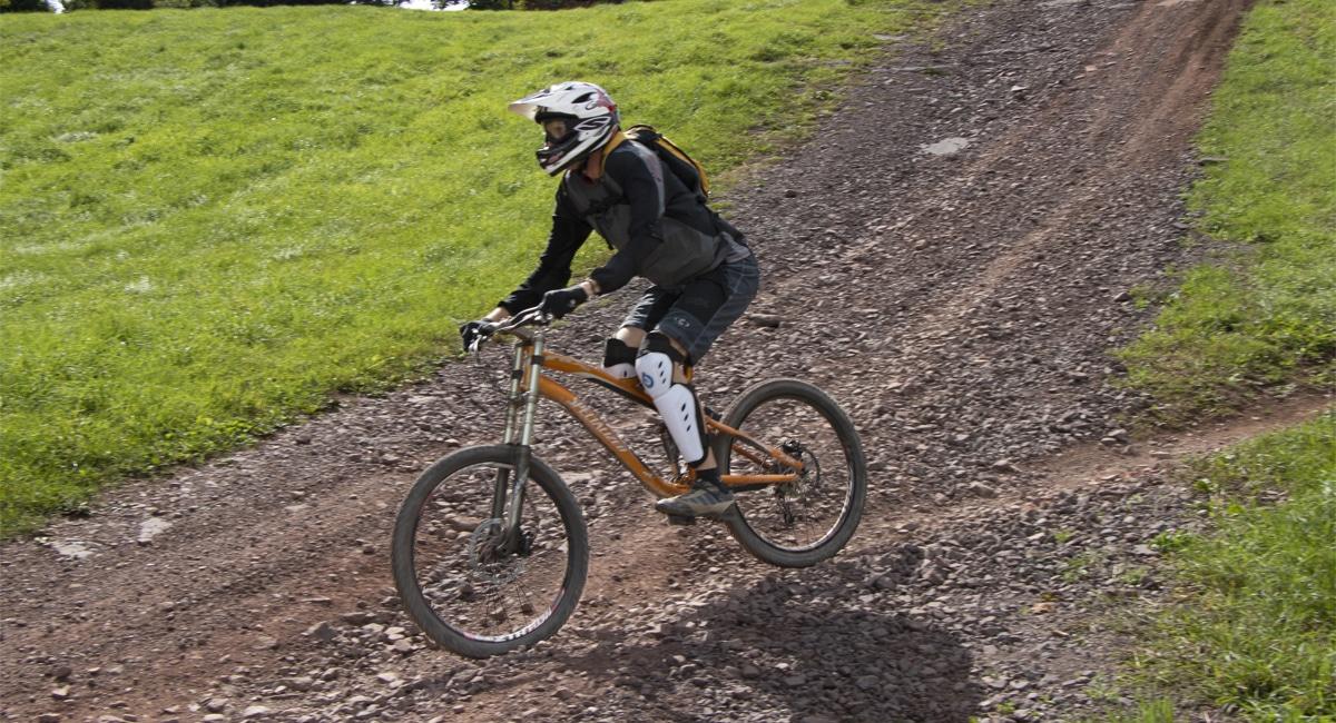 Mountain Biker at Windham | Allyson Macci