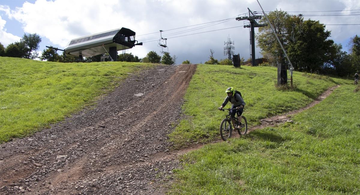 Biking Downhill at Windham | Allyson Macci