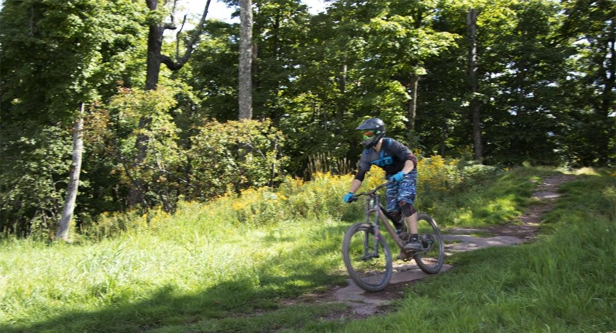 Riding Down Windham Mountain | Allyson Macci