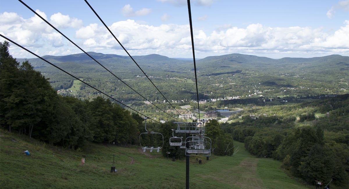 Windham Mountain Bike Park from Ski Lift | Allyson Macci