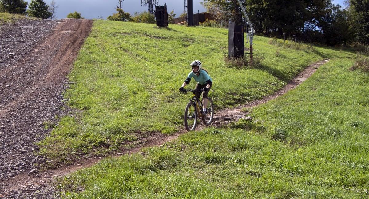 Woman Mountain Biker at Windham | Allyson Macci