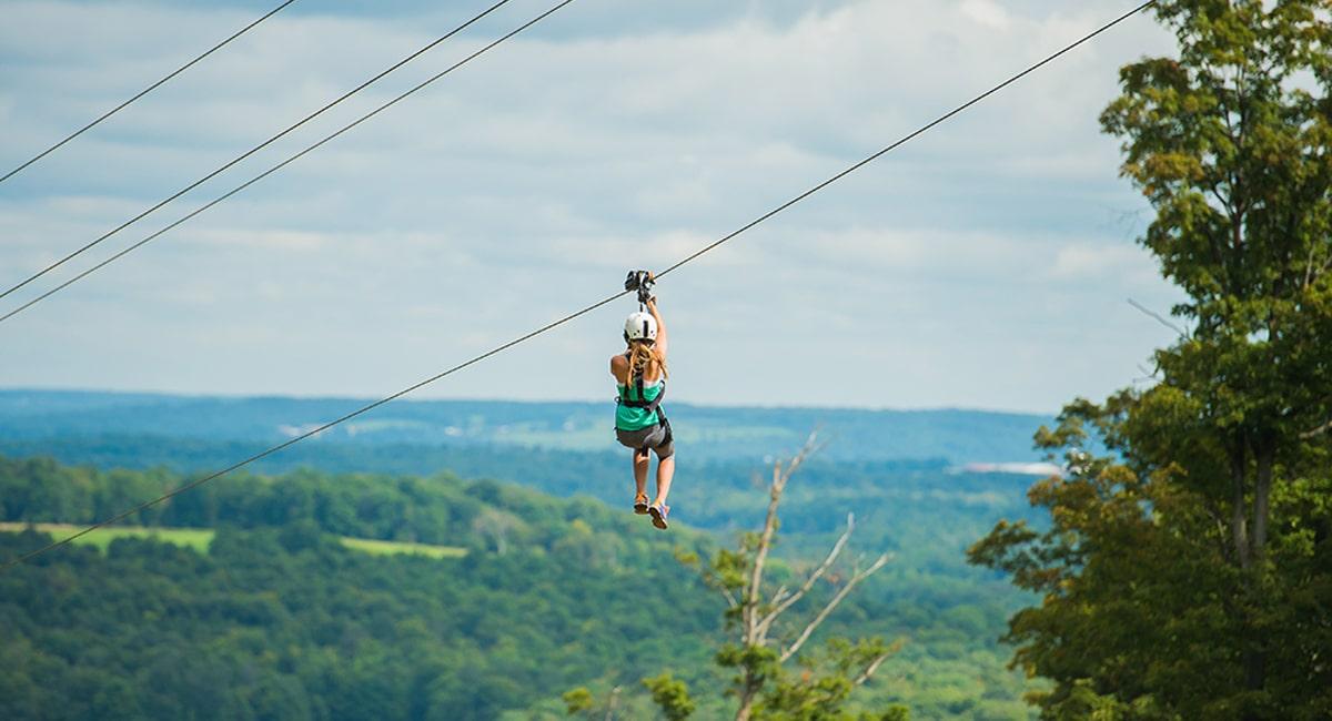 Peek'N Peak Resort - Mountain Aerial Adventures