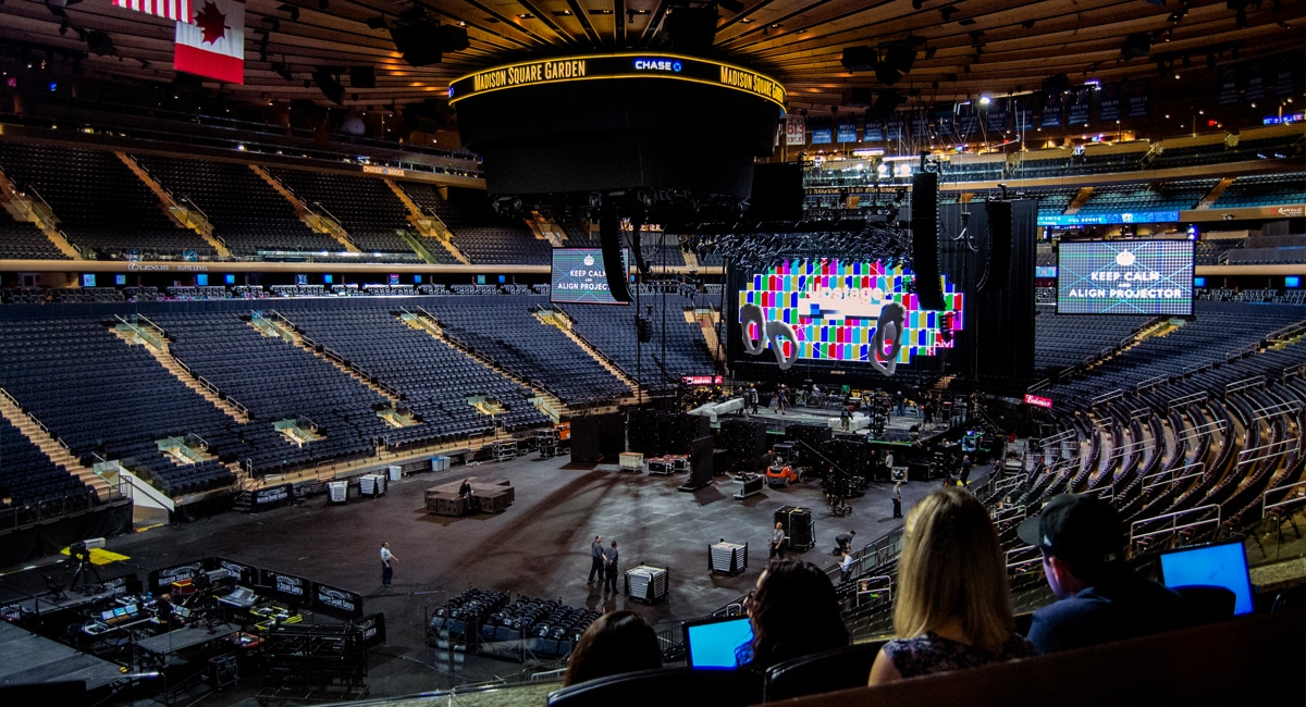 Madison Square Garden All Access Tour | Andrew Frey