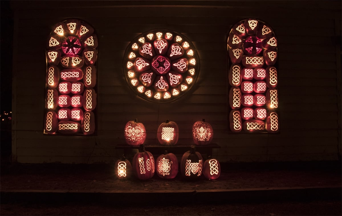Church Windows | Photo Courtesy of Allyson Macci