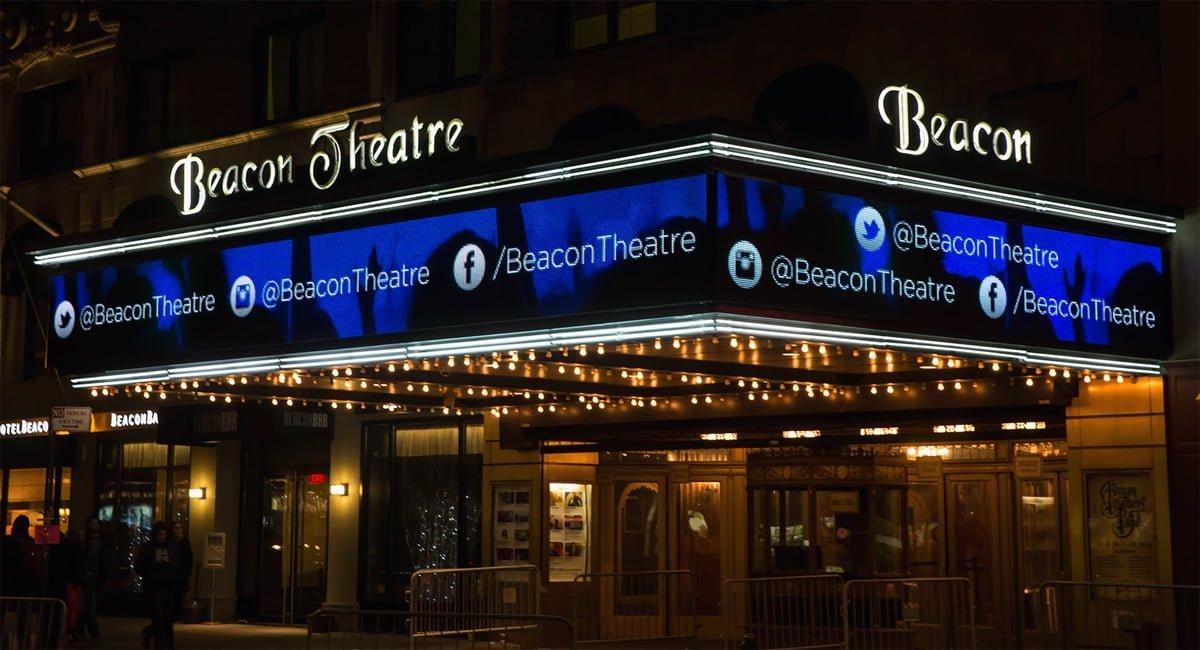 The Beacon Theatre New York City New York By Rail