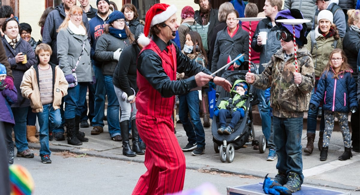 Entertainers at the annual Troy Victorian Stroll. | Courtesy of the Troy Victorian Stroll website