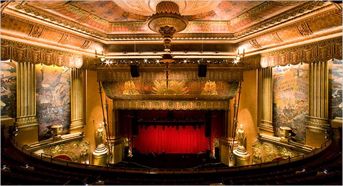View of the Beacon Theatre. | Courtesy of Fred R. Conrad from The New York Times