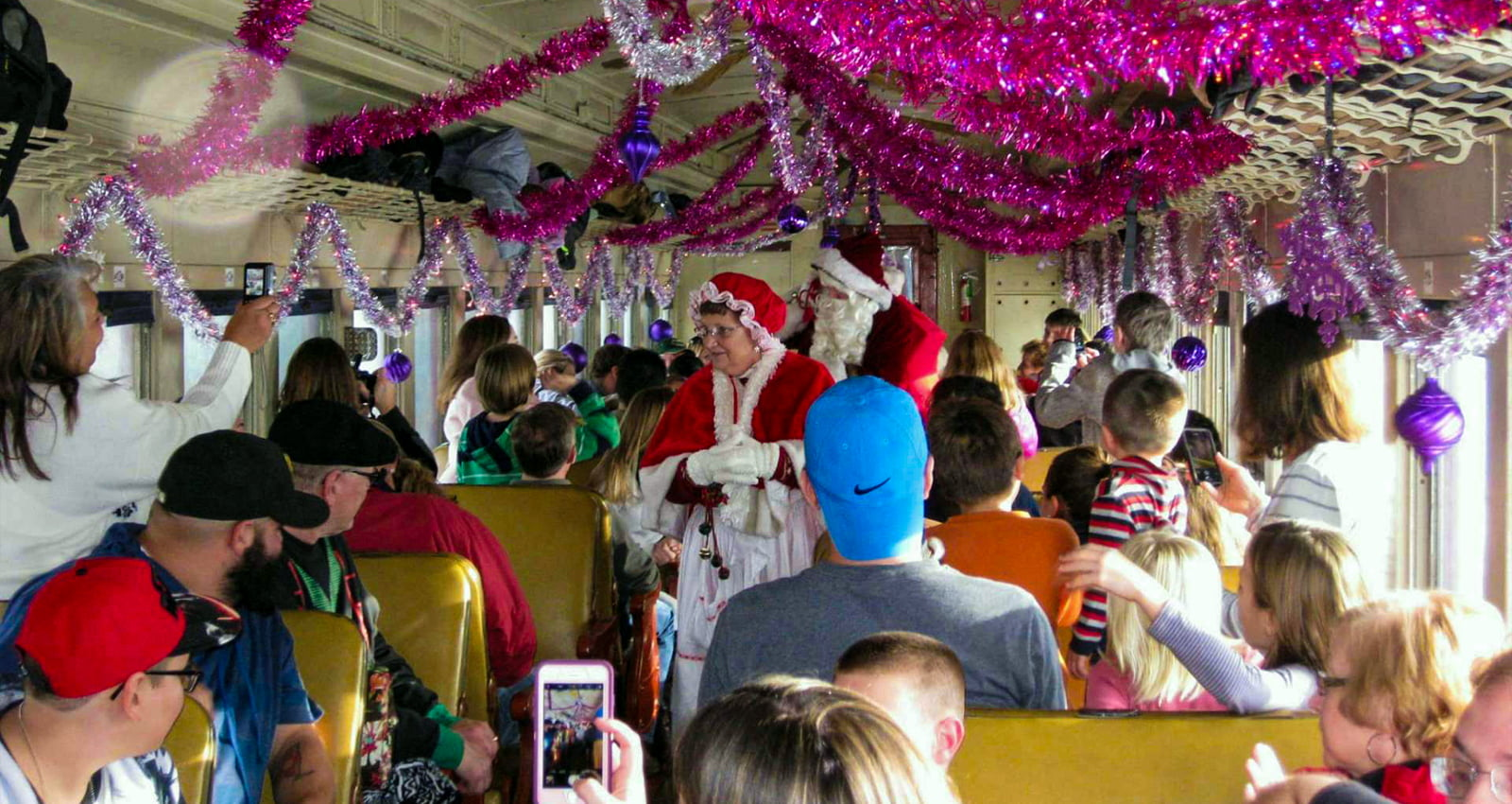 Cooperstown & Charlotte Valley Railroad Santa Claus Express & North Pole Express