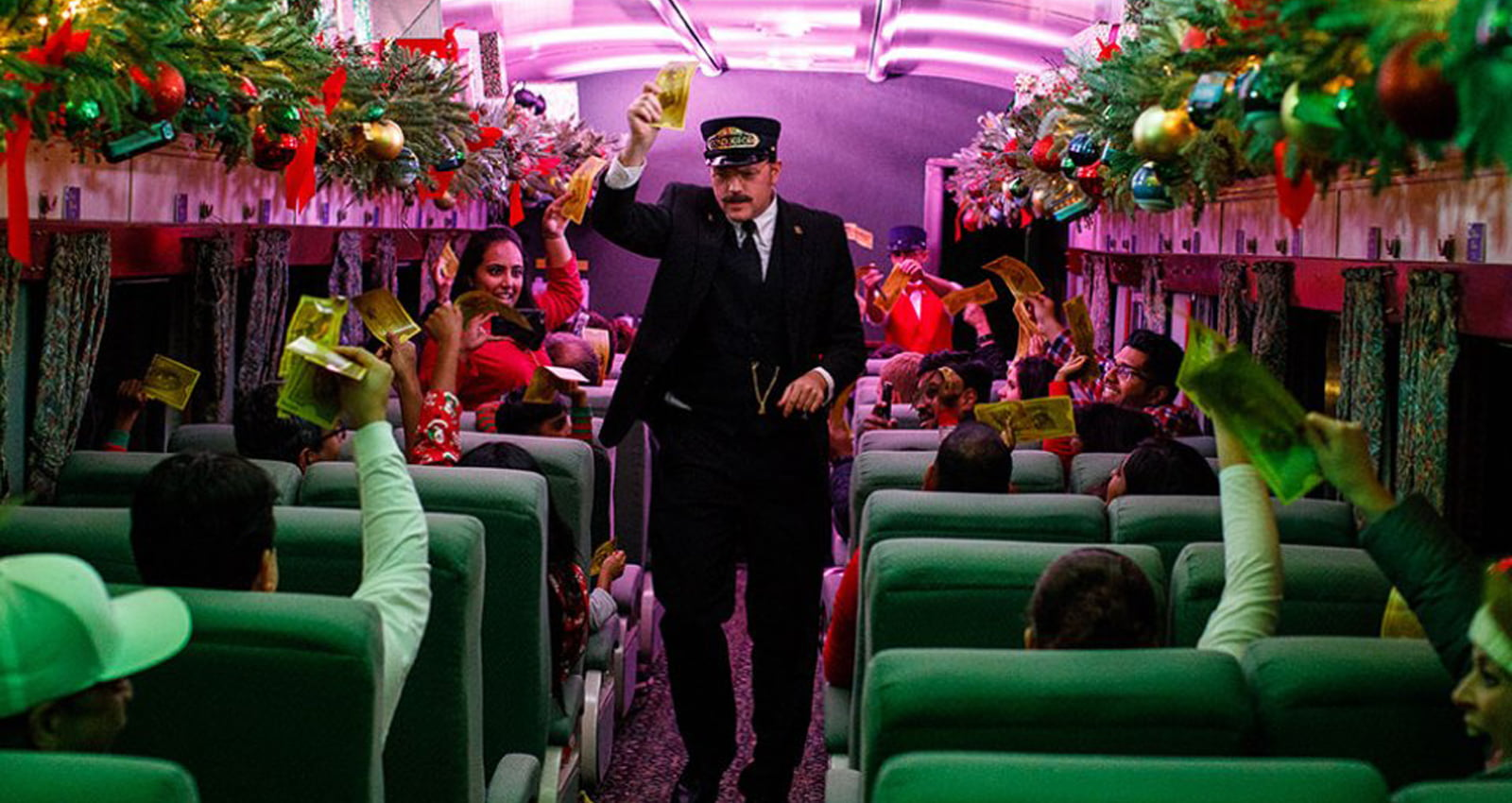 Morristown & Erie Railway Polar Express Ride | Photo Courtesy of Rail Events Productions