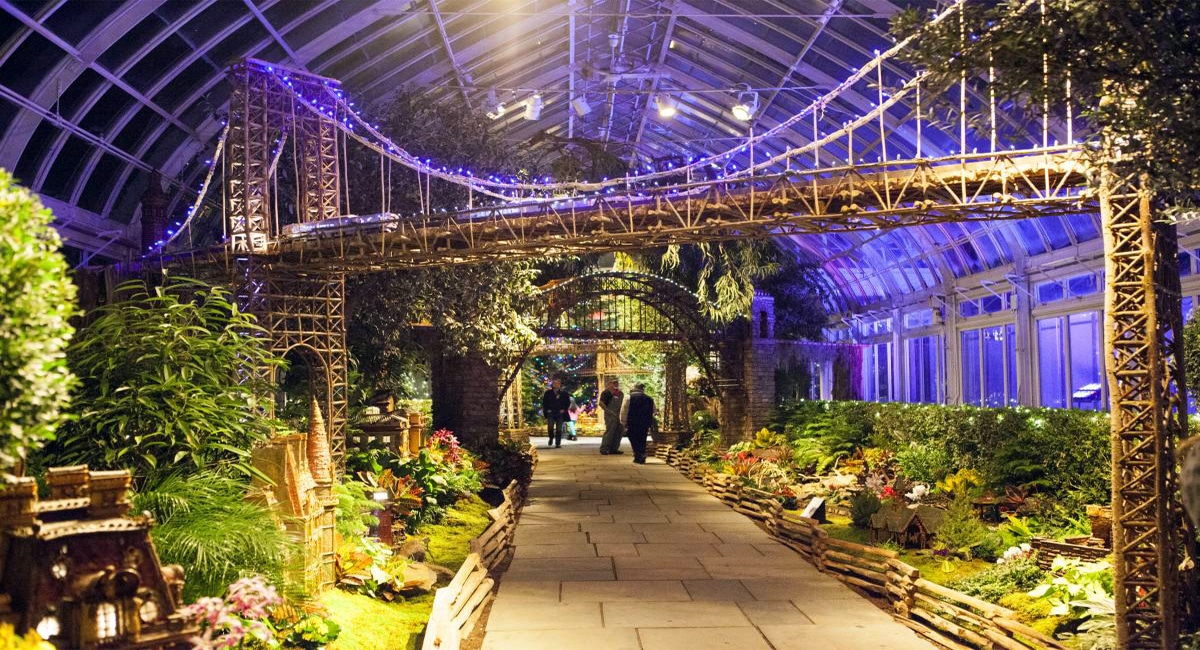 Christmas Train Displays In New Your City 2020 New York Botanical Garden Holiday Train Show | New York by Rail