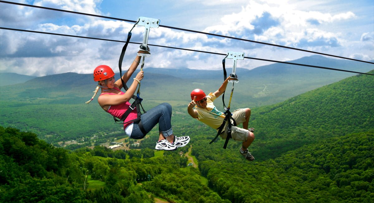 Adventure in the Great Northern Catskills | Hunter Mountain Zipline