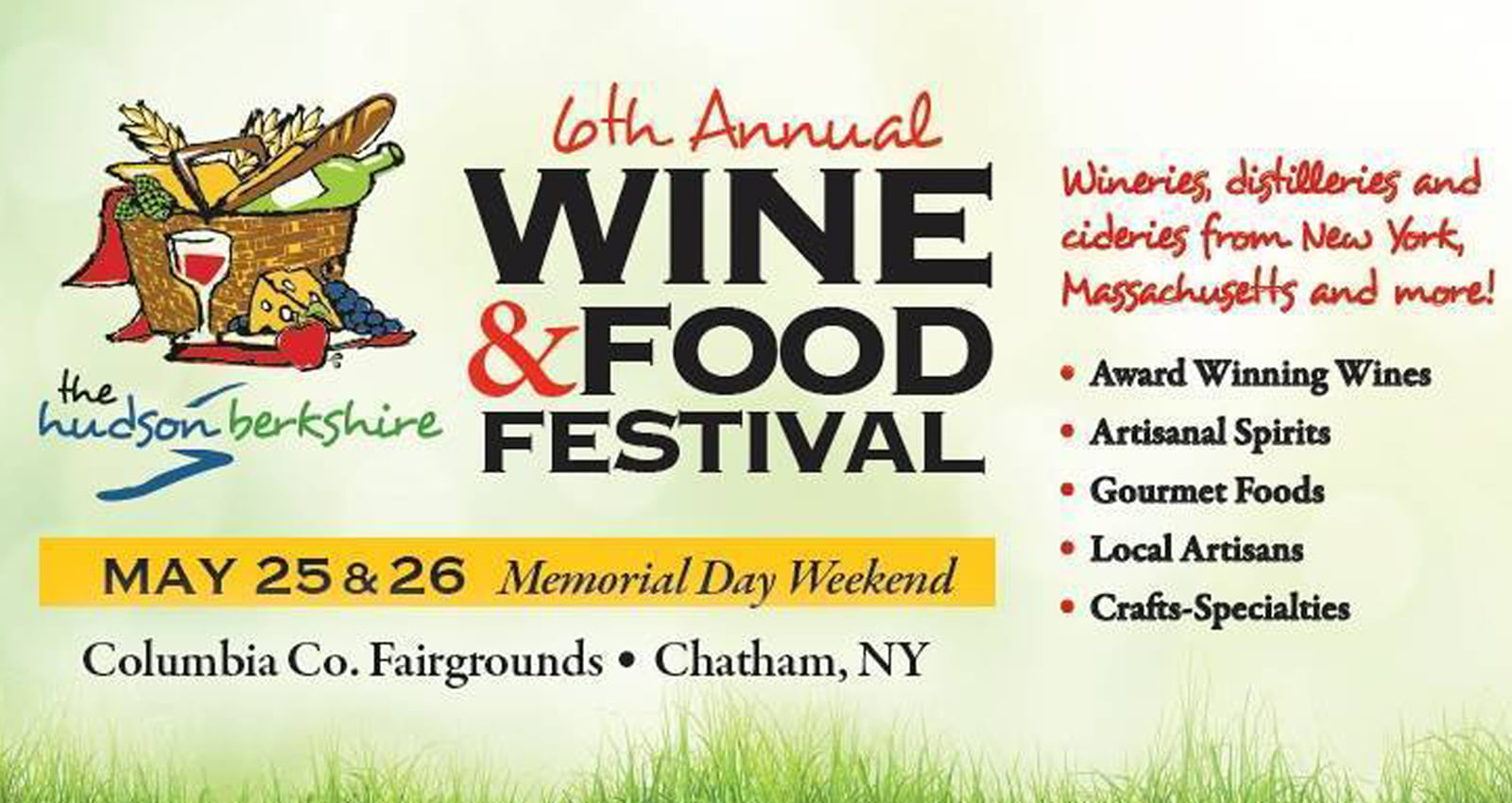Hudson-Berkshire Wine and Food Festival