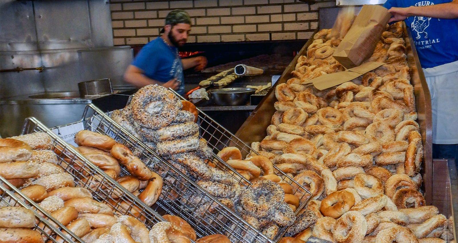 Montréal's Food Scene | St-Viateur Bagel Shop | Photo Courtesy of Diana Lambden Meyer