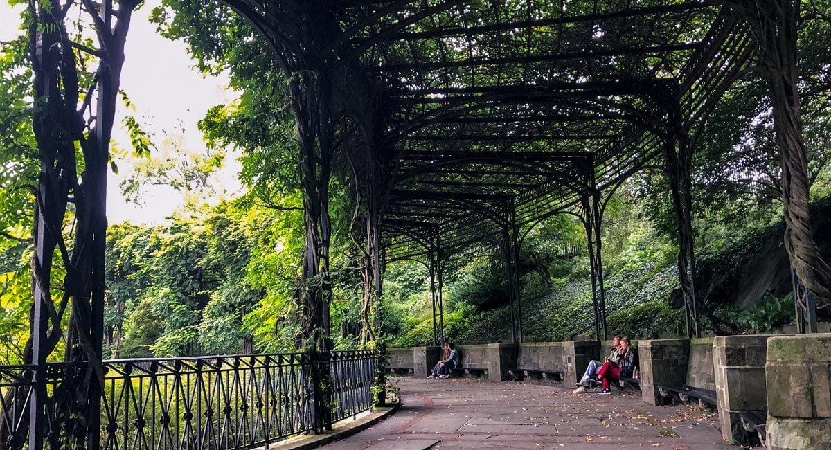 Conservatory Garden, Central Park, New York City