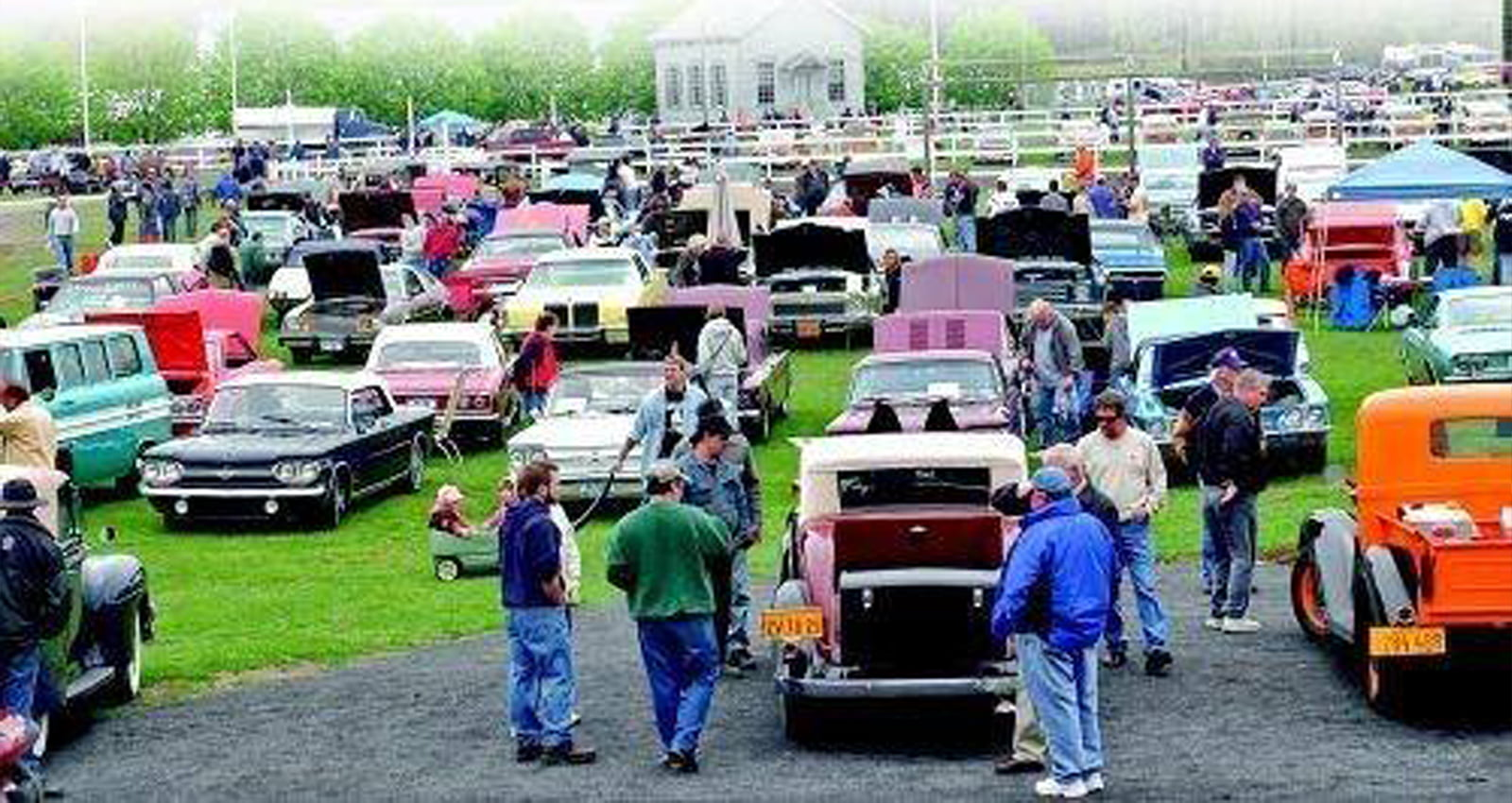 Rhinebeck Antique Car Show | Pore over countless hot rods, custom cars, and 60 antiques and classics. | Photo Courtesy of Dutchess County Fairgrounds