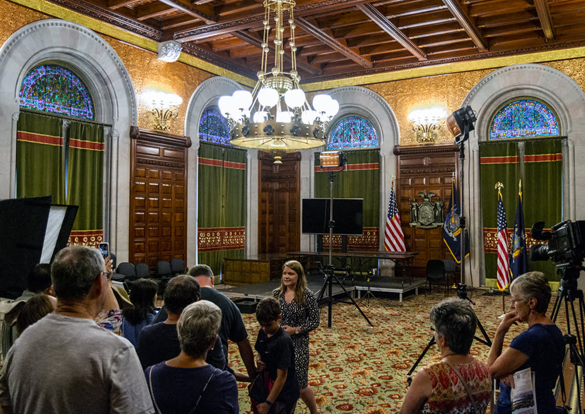 New York State Governor's Executive Chambers. | Photo Courtesy of Andrew Frey