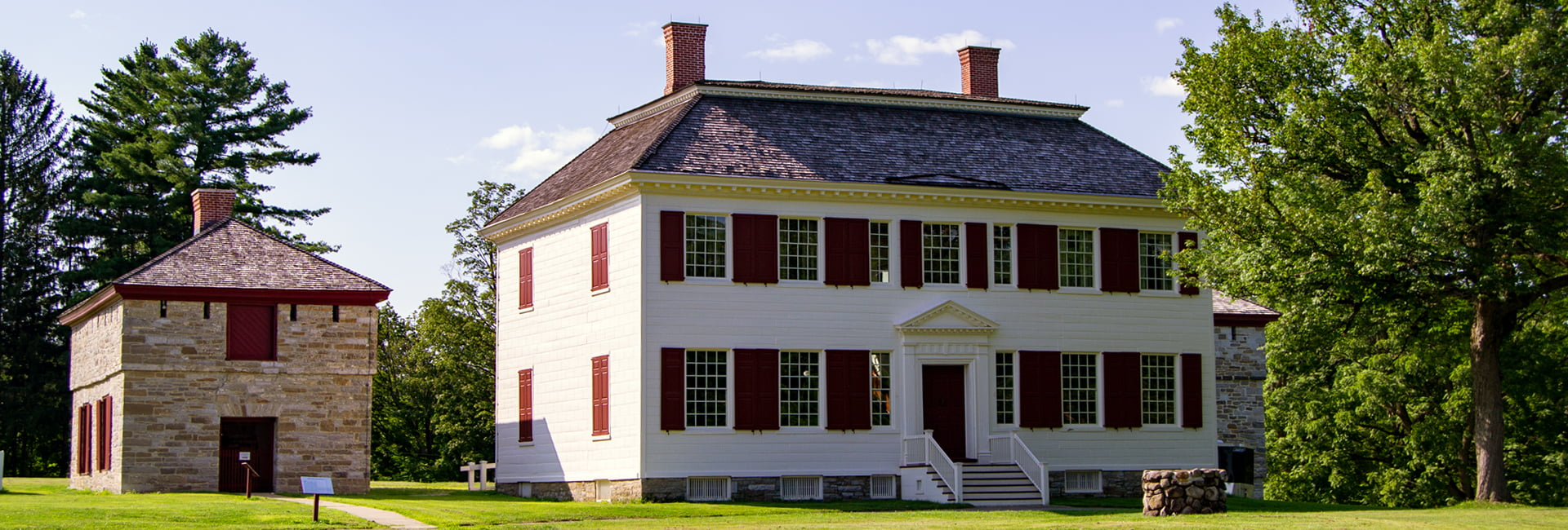 AFrey_Capital-Saratoga Region - Johnson Hall State Historic Site, Main house and servant's quarters