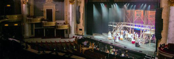AFrey_Capital-Saratoga Region - Proctors Theatre, Les Miserable Rehearsal