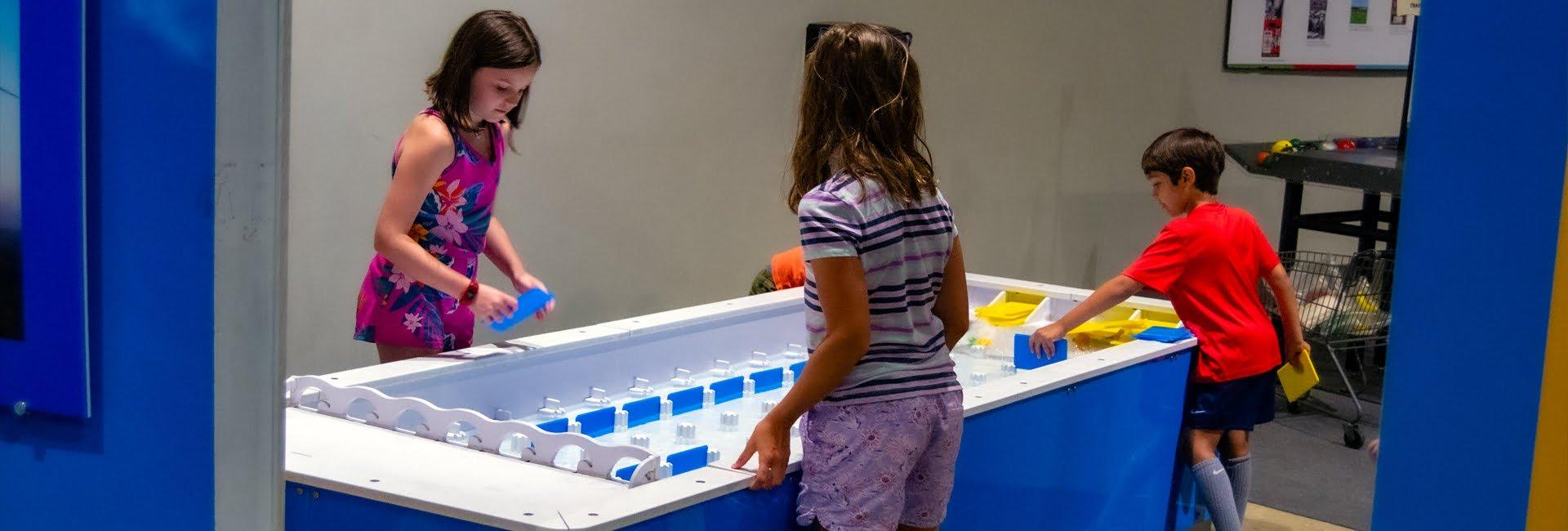 AFrey_Capital-Saratoga Region - miSci, Children interacting with exhibit