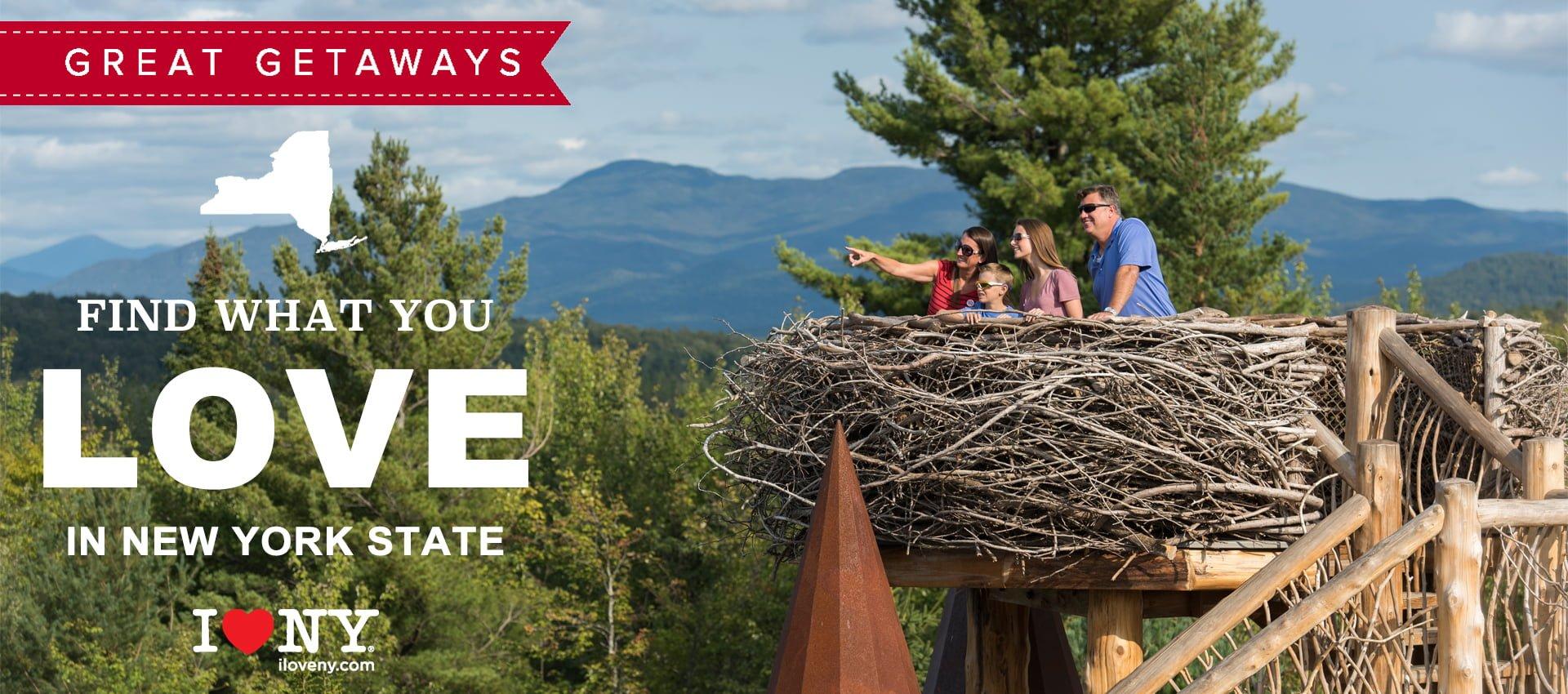 ILNY Great Getaways | Adirondacks
