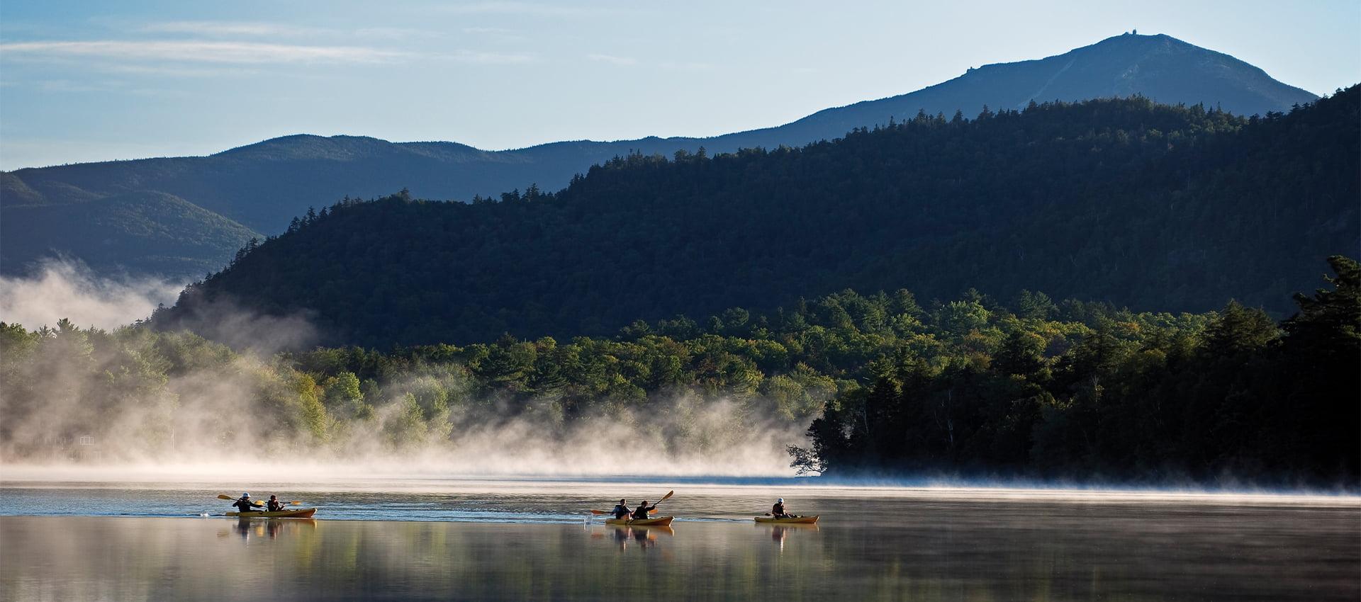 Mirror Lake at Lake Placid
