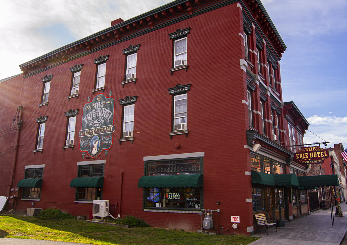 The Erie Hotel and Restaurant in Port Jervis, NY. | Photography Courtesy of Andrew Frey