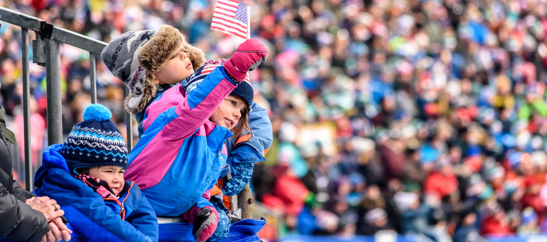 Children cheer on at the Killington World Cup. | Photo Courtesy of John Everett