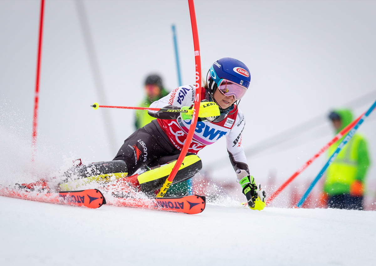 Mikaela Shiffrin's Slalom Run at the Killington World Cup. | Photo Courtesy of David Young