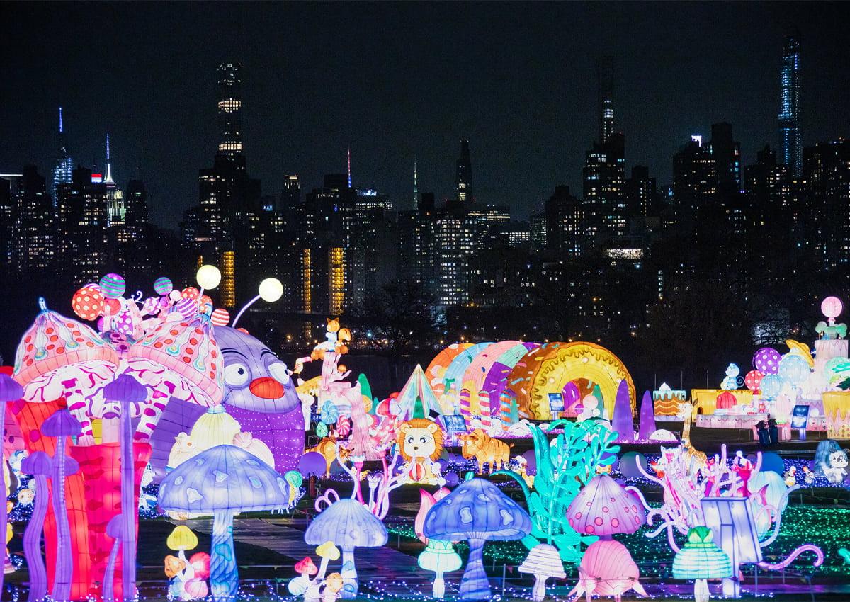 LuminoCity Festival at Randall's Island Park in New York City. | Photo COurtesy of LuminoCity Festival