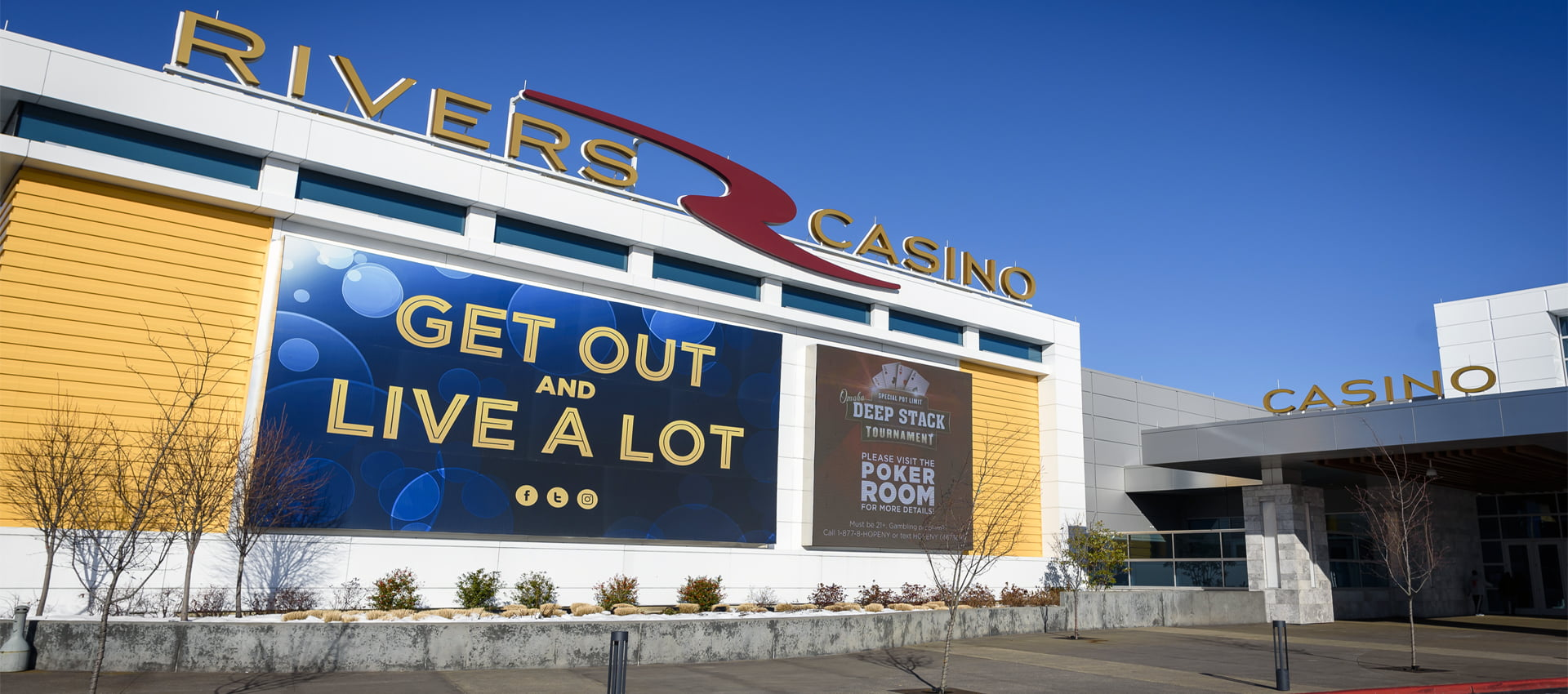 Rivers Casino & Resort | Photo Courtesy of Andrew Shinn
