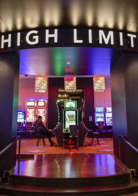 The High Limit room at Rivers Casino & Resort. | Photo Courtesy of Andrew Shinn