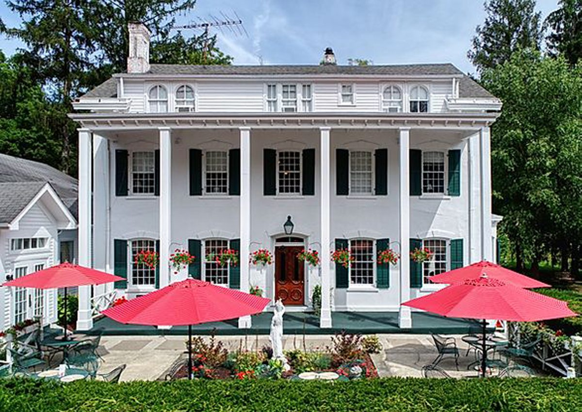 The Main House at LeChambord at Curry Estate