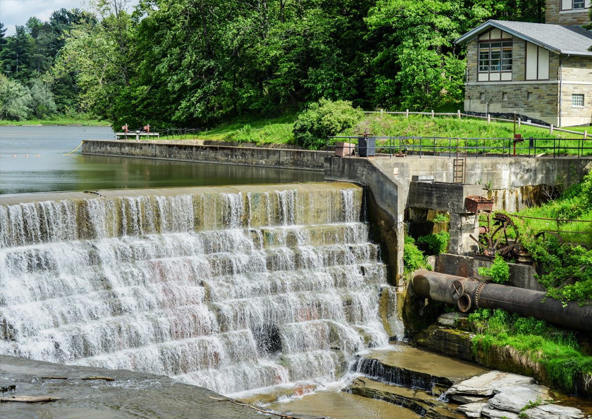 Water Fall   Ithaca, NY   Finger Lakes