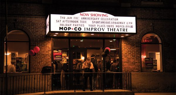 Virtual Shows at the Mopco Improv Theatre