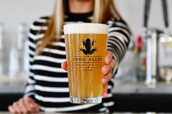 Visit Schenectady's Frog Alley Brewing Company