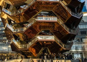 The Vessel at the Hudson Yards