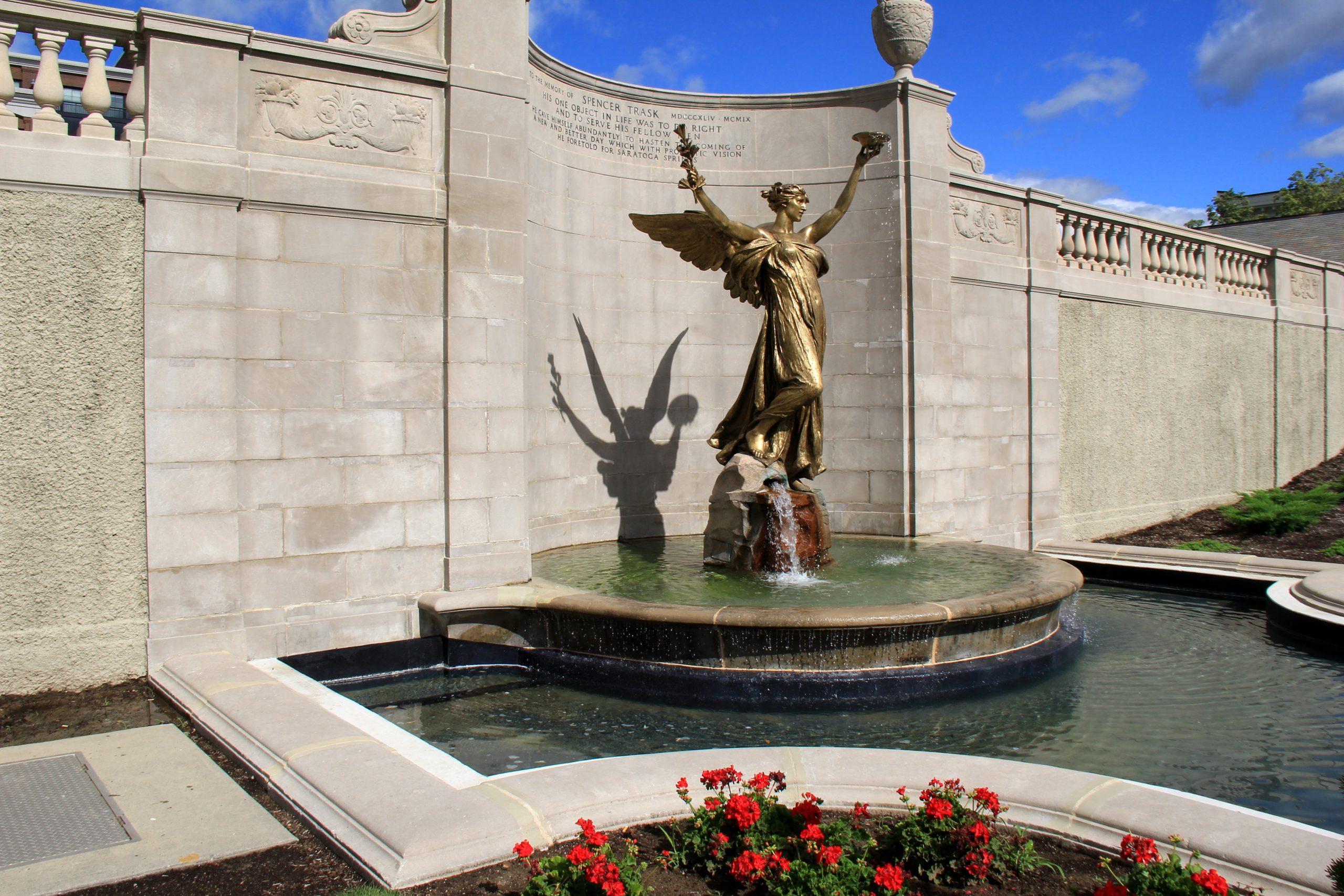 Bronze Statue in Congress Park