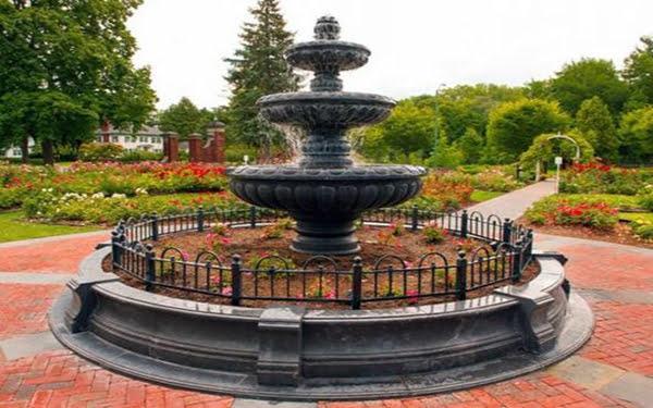 Central Park Rose Garden Schenectady