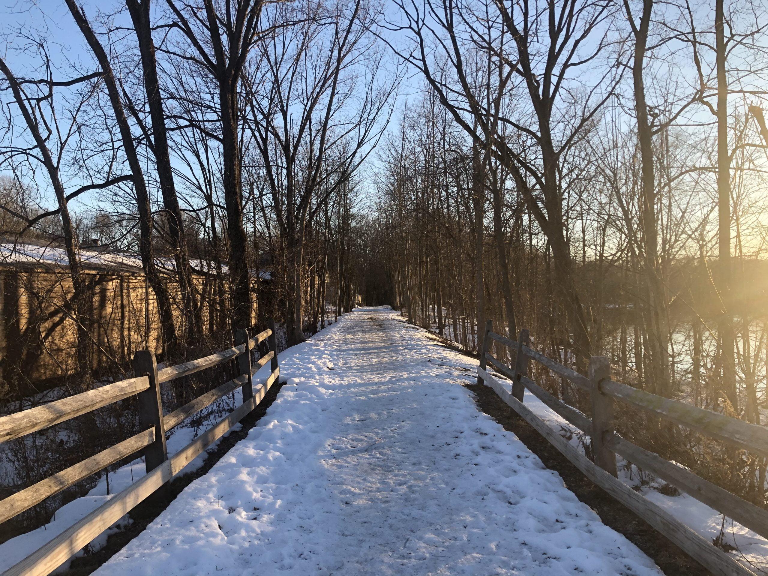 Wallkill Valley Rail Trail in New Paltz
