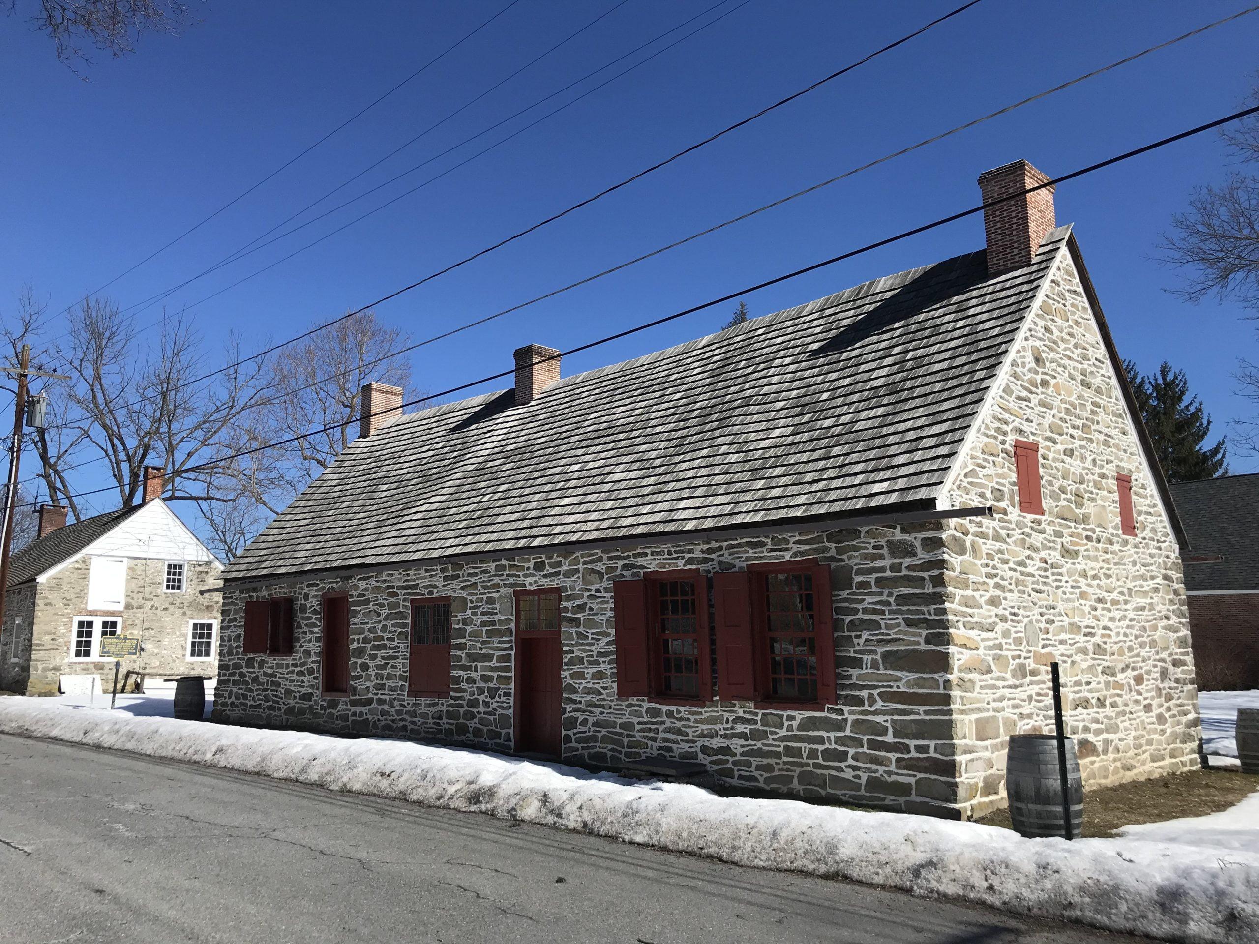 House on Historic Huguenot Street