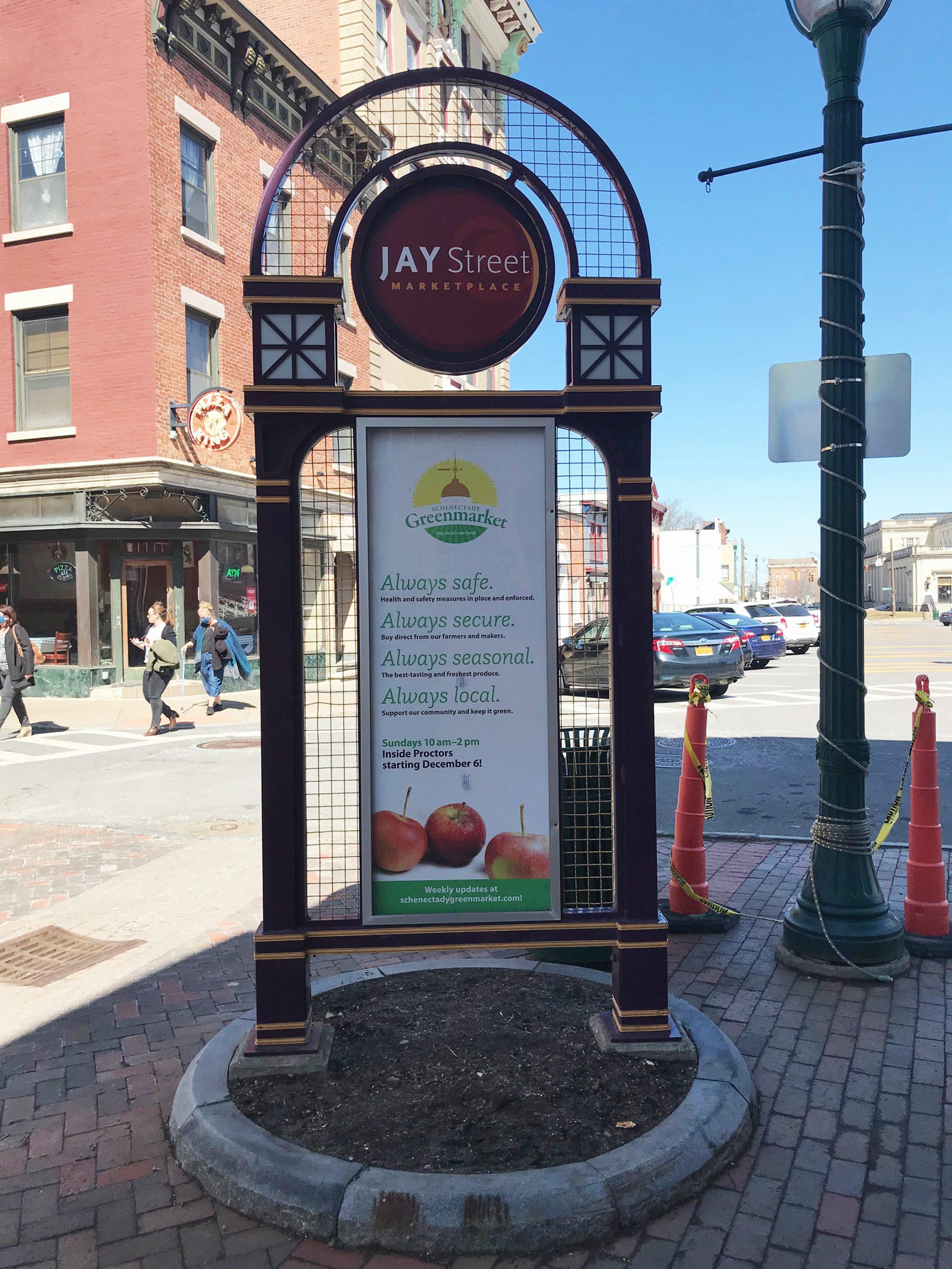 Jay Street Kiosk in Schenectady NY